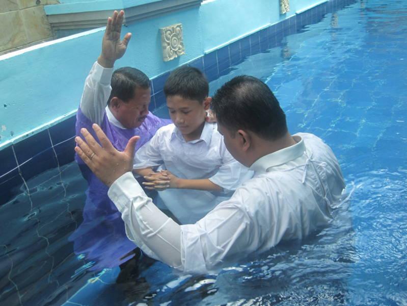 Arti Baptis Dalam Agam Kristen
